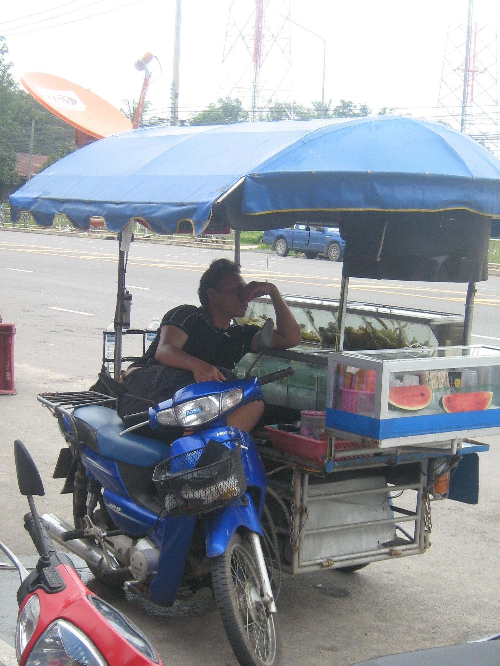 Thai Motorbike Vendor