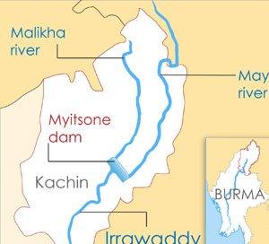 Myitsone Dam Project, Myanmar