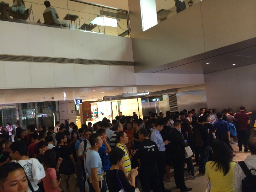 iPhone 6 Launch Hong Kong