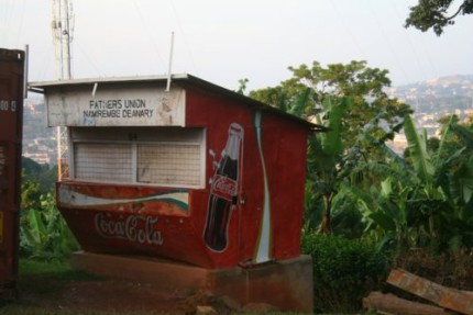 Coca Cola shop in Africa