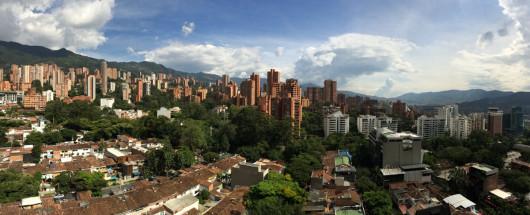 View over Poblado, Medellin