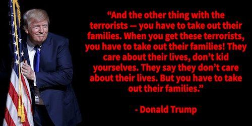 Donald Trump on Terrorists