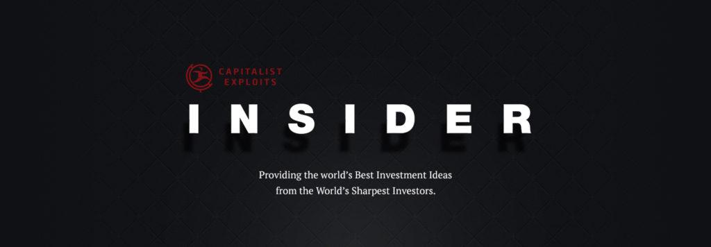 Capitalist Exploits Insider