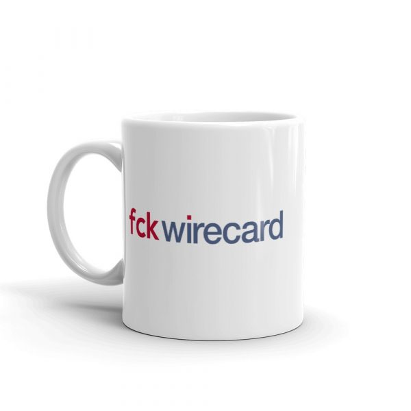 Fuck Wirecard Mug 11 oz