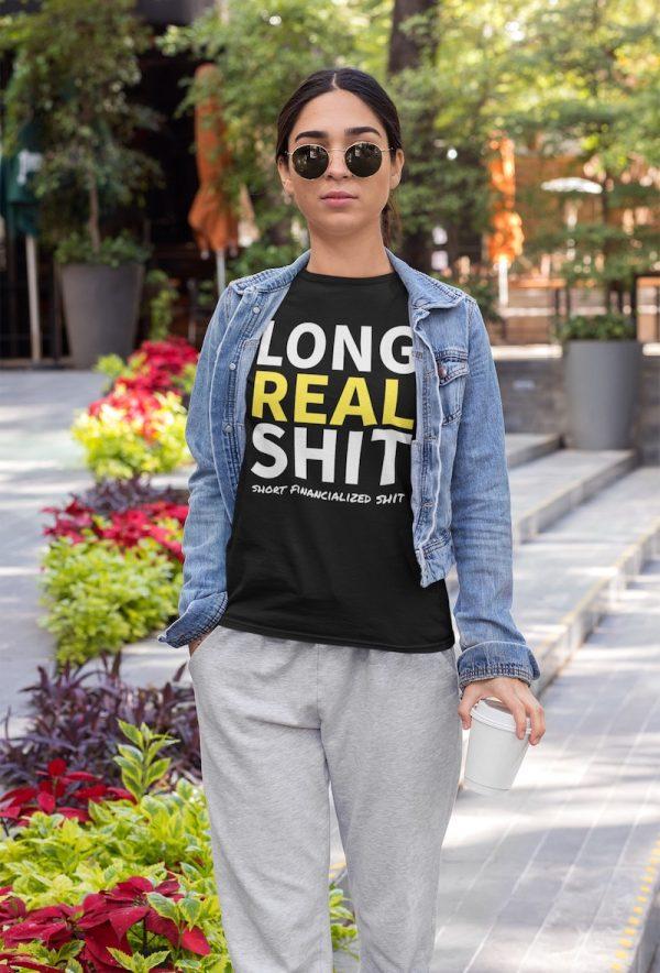 Long Real Shit Tee