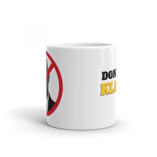 Don't Get Klaus'd Mug - 11oz front