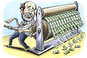 Bernanke Printing Money