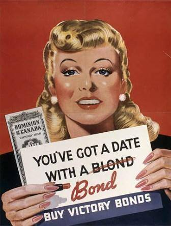 Date with a blonde