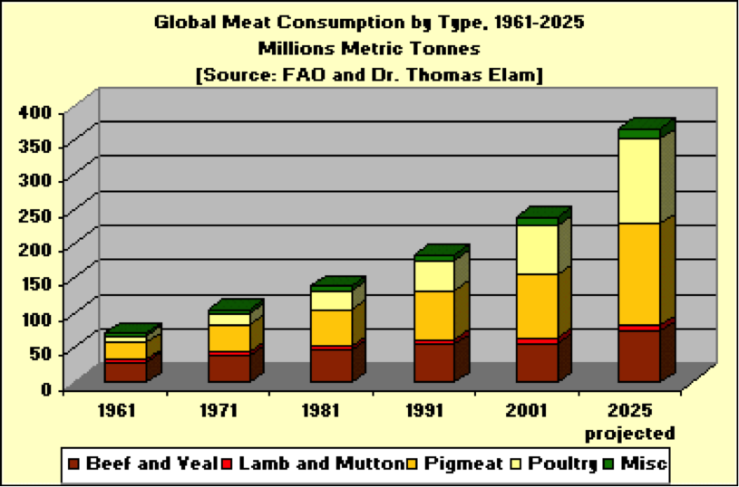 Global Food Industry - Meat Consumption