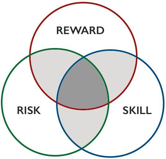 Risk, Reward and Skill